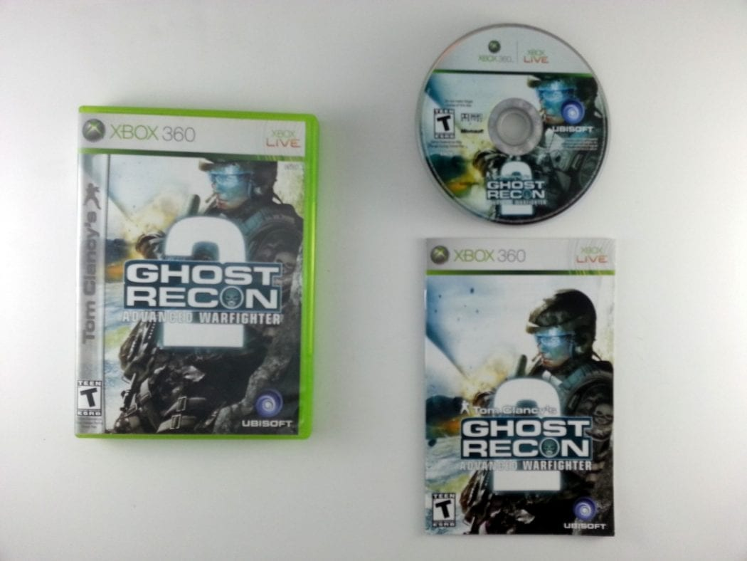 Ghost Recon Advanced Warfighter 2 game for Microsoft Xbox 360 -Complete