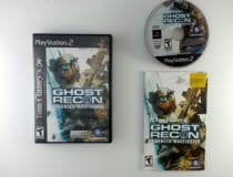 Ghost Recon Advanced Warfighter game for Sony Playstation 2 PS2 -Complete
