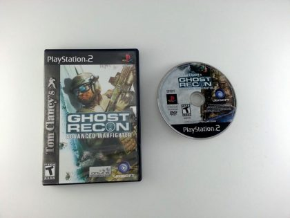 Ghost Recon Advanced Warfighter game for Sony Playstation 2 PS2 -Game & Case