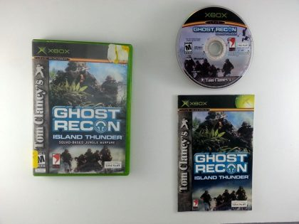 Ghost Recon Island Thunder game for Microsoft Xbox -Complete