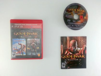 God of War Collection game for Sony Playstation 3 PS3 -Complete