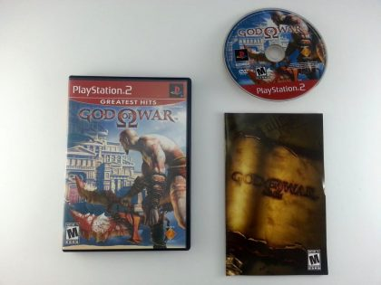 God of War game for Sony Playstation 2 PS2 -Complete
