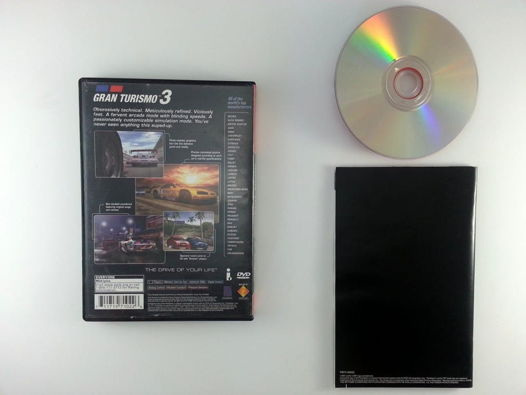 Gran Turismo 3 game for Playstation 2 (Complete) | The Game Guy
