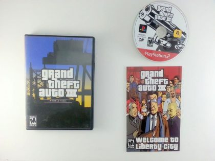 Grand Theft Auto III game for Sony Playstation 2 PS2 -Complete