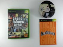 Grand Theft Auto San Andreas: Second Edition game for Microsoft Xbox -Complete