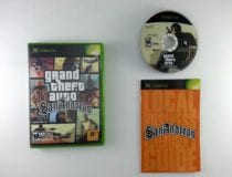 Grand Theft Auto San Andreas game for Microsoft Xbox -Complete