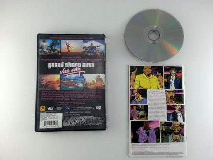 Grand Theft Auto Vice City game for Playstation 2 (Complete) | The Game Guy