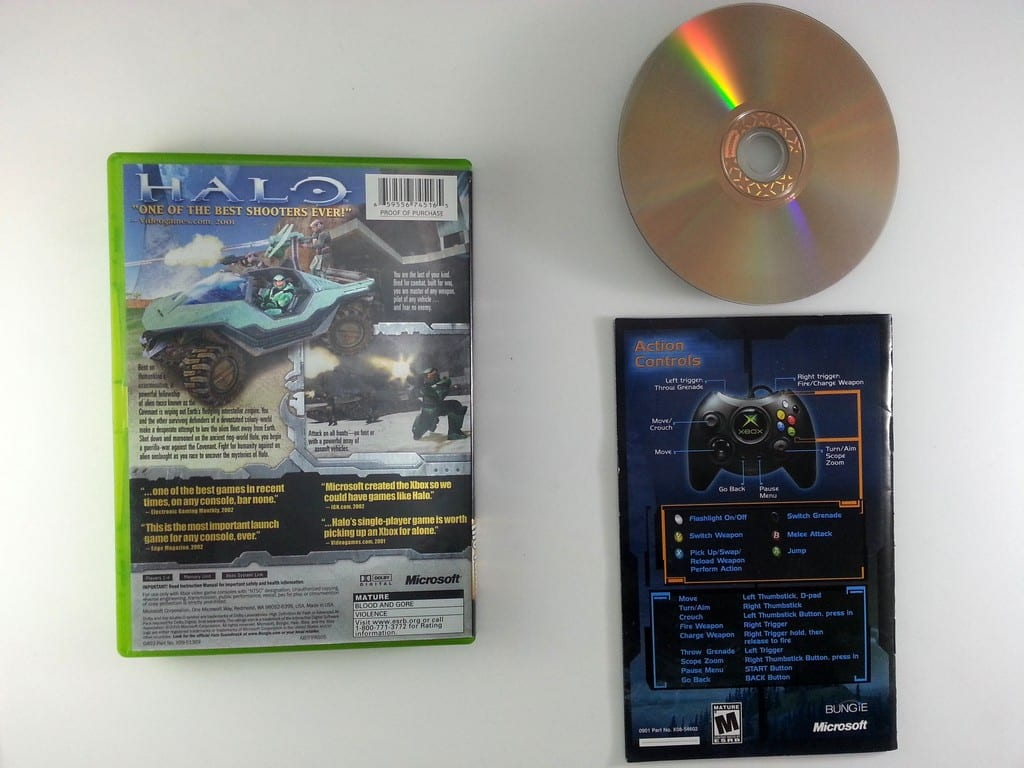 Halo: Combat Evolved game for Xbox (Complete) | The Game Guy