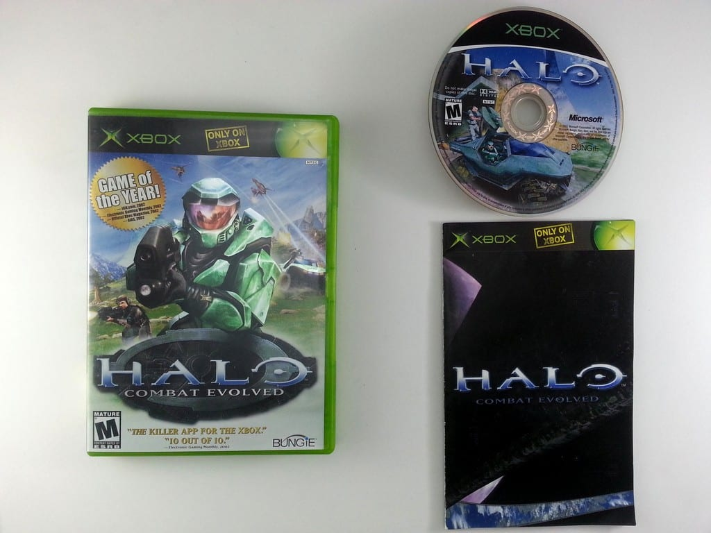 Halo: Combat Evolved game for Microsoft Xbox -Complete