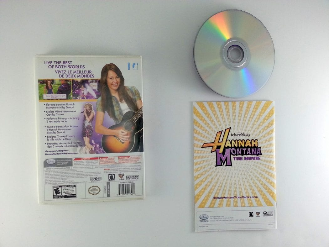 Hannah Montana: The Movie game for Wii (Complete)   The Game Guy