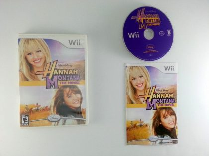 Hannah Montana: The Movie game for Nintendo Wii -Complete