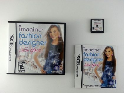 Imagine Fashion Designer New York game for Nintendo DS -Complete