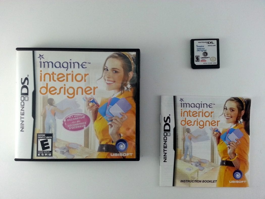 Imagine Interior Designer game for Nintendo DS -Complete