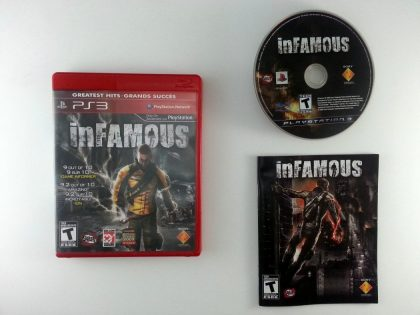 Infamous game for Sony Playstation 3 PS3 -Complete