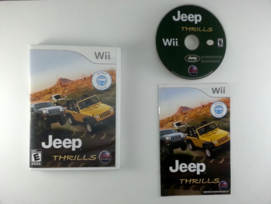 Jeep Thrills game for Nintendo Wii -Complete