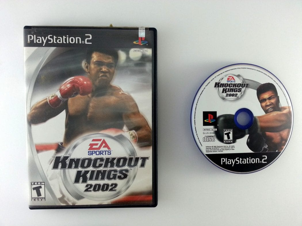 Knockout Kings 2002 game for Sony Playstation 2 PS2 -Game & Case