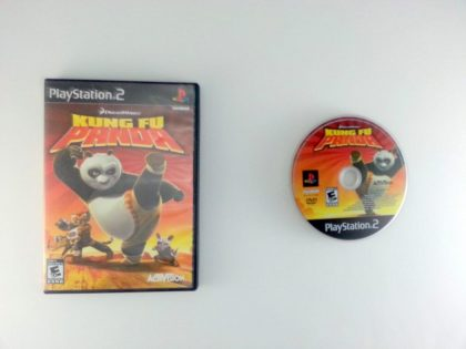 Kung Fu Panda game for Sony Playstation 2 PS2 -Game & Case