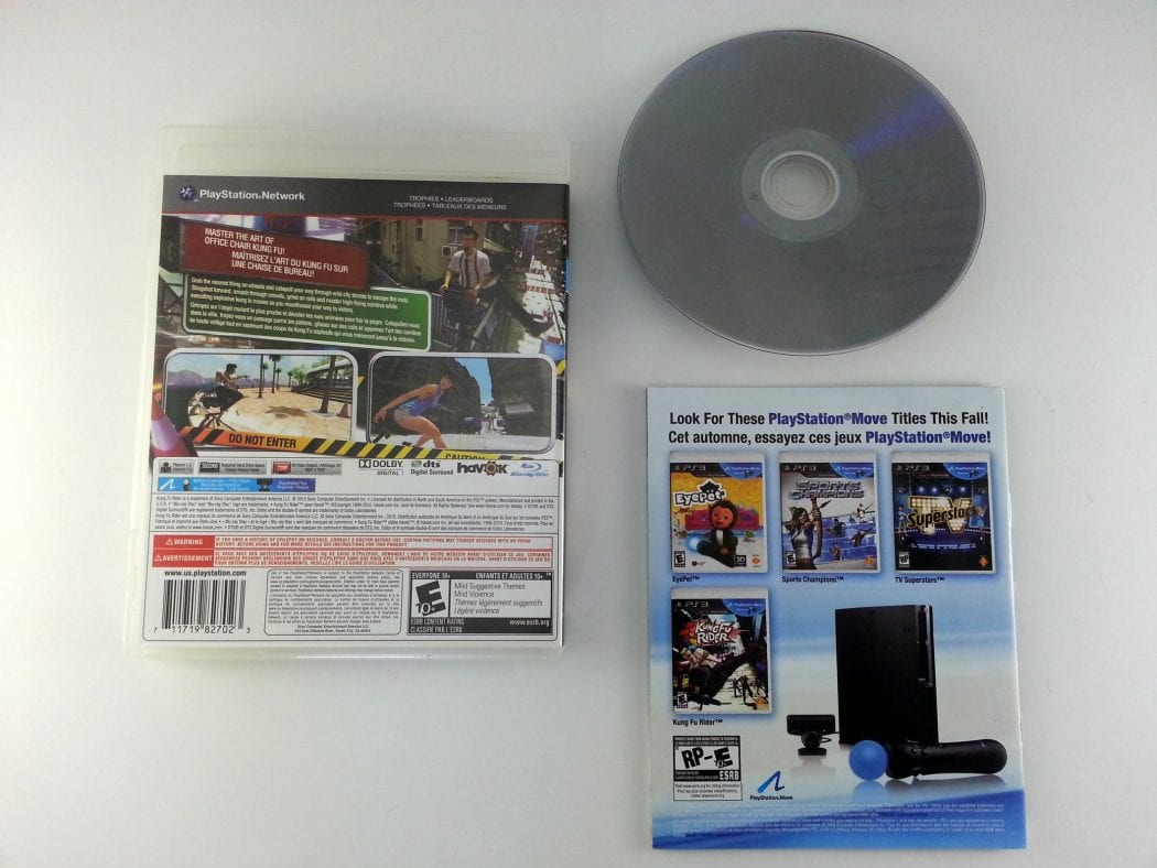 Kung Fu Rider game for Playstation 3 (Complete)   The Game Guy