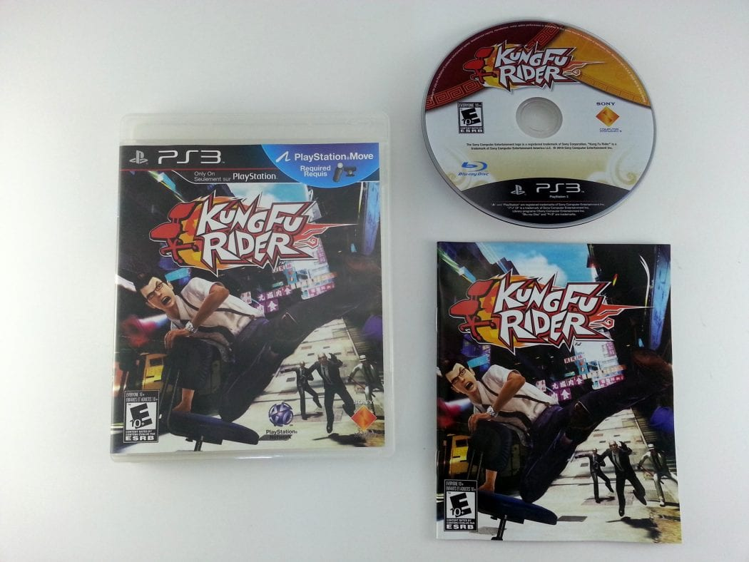 Kung Fu Rider game for Sony Playstation 3 PS3 -Complete