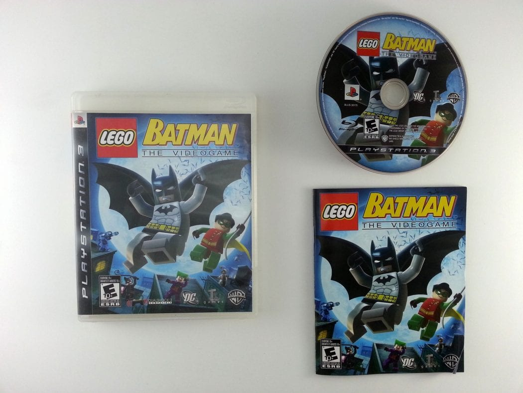 LEGO Batman The Videogame game for Playstation 3 (Complete ...