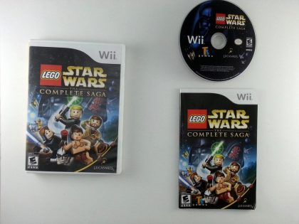 LEGO Star Wars Complete Saga game for Nintendo Wii -Complete