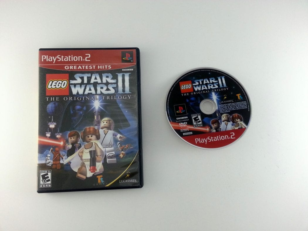 LEGO Star Wars II Original Trilogy game for Sony Playstation 2 PS2 -Game & Case