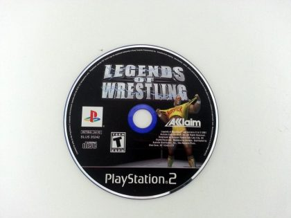 Legends of Wrestling game for Sony Playstation 2 PS2 - Loose