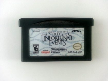 Lemony Snicket's A Series of Unfortunate Events game for Gameboy GBA - Loose