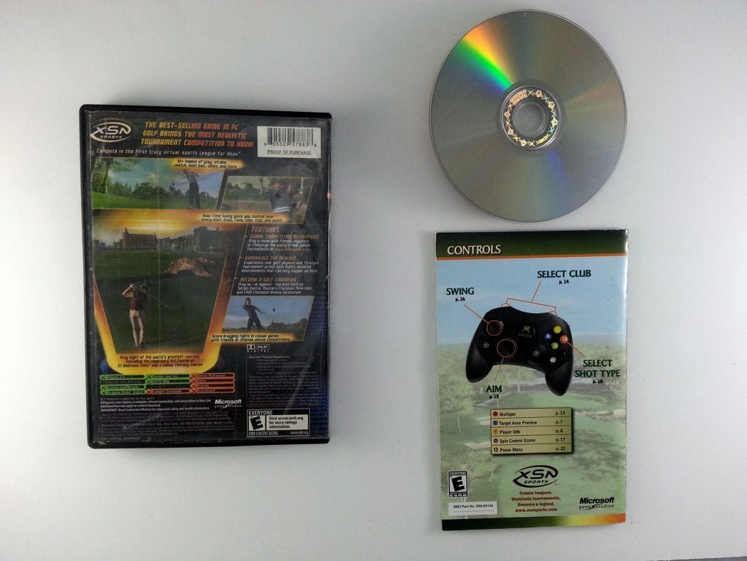 Links 2004 game for Xbox (Complete) | The Game Guy