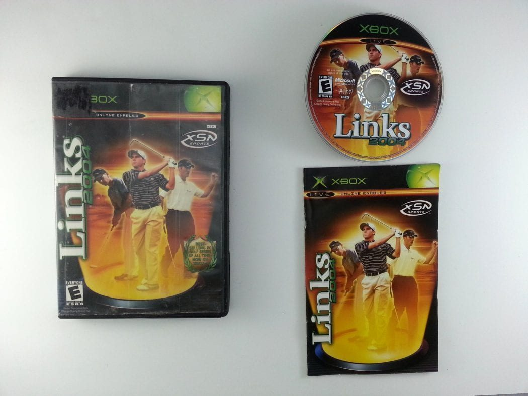 Links 2004 game for Microsoft Xbox -Complete