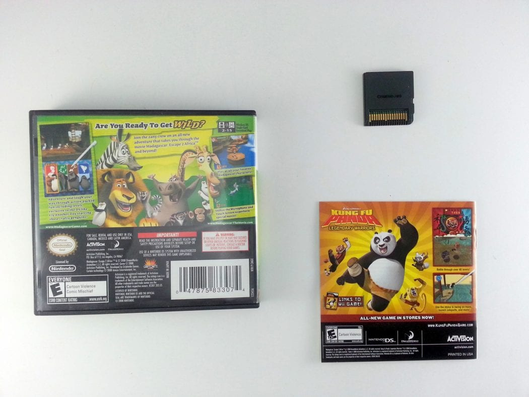 Madagascar Escape 2 Africa game for Nintendo DS (Complete) | The Game Guy