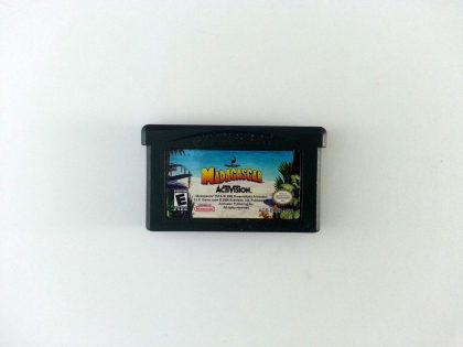 Madagascar game for Nintendo Gameboy Advance - Loose
