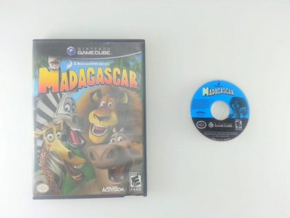 Madagascar game for Nintendo Gamecube -Game & Case