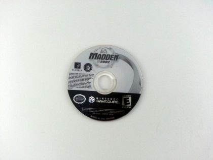 Madden 2002 game for Nintendo Gamecube - Loose