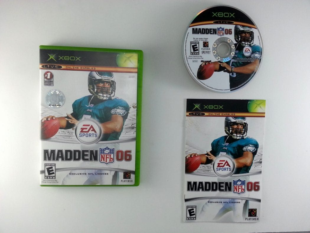 Madden 2006 game for Microsoft Xbox -Complete