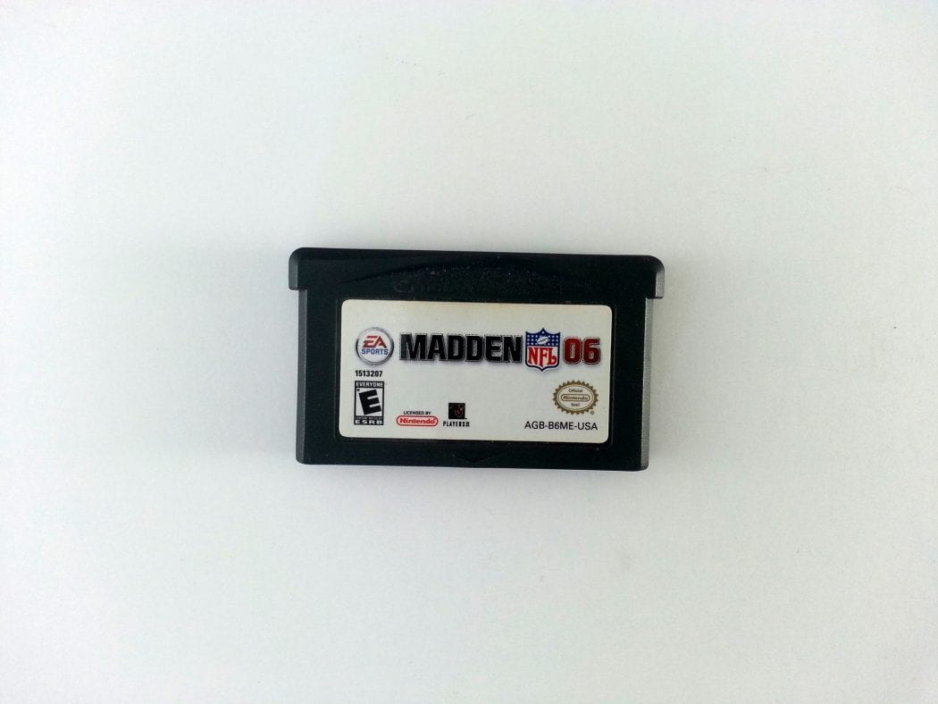 Madden 2006 game for Nintendo Gameboy Advance - Loose