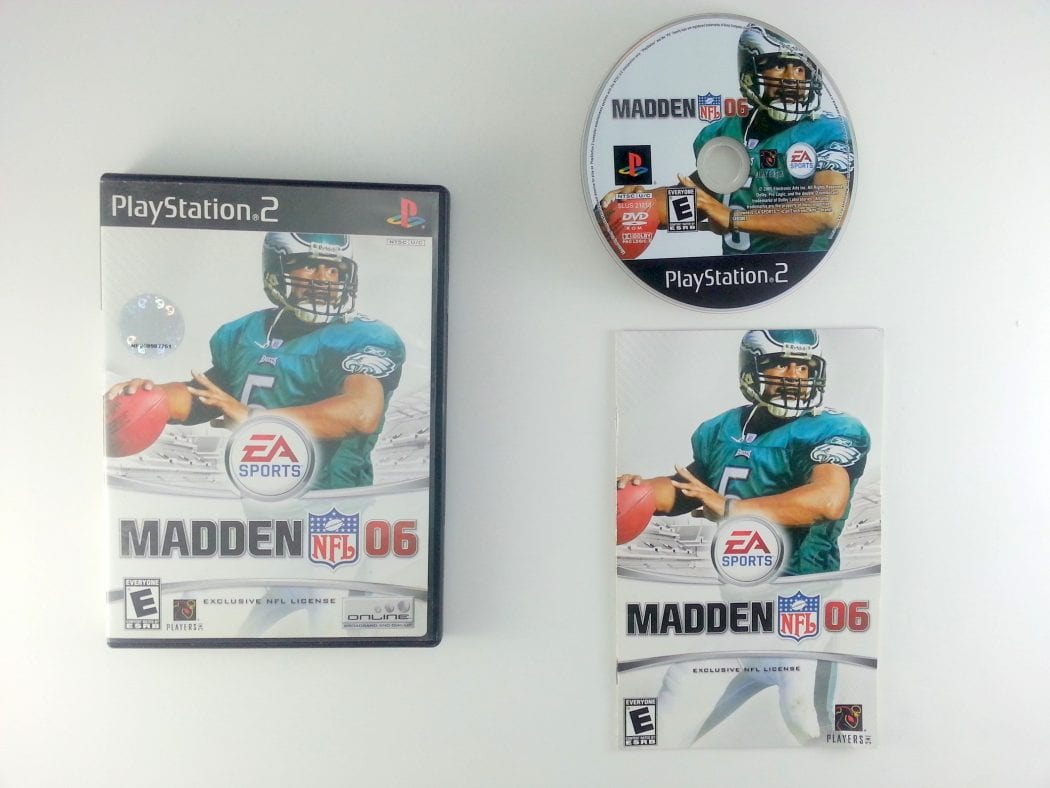 Madden 2006 game for Sony Playstation 2 PS2 -Complete