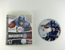 Madden 2007 game for Sony Playstation 3 PS3 -Game & Case