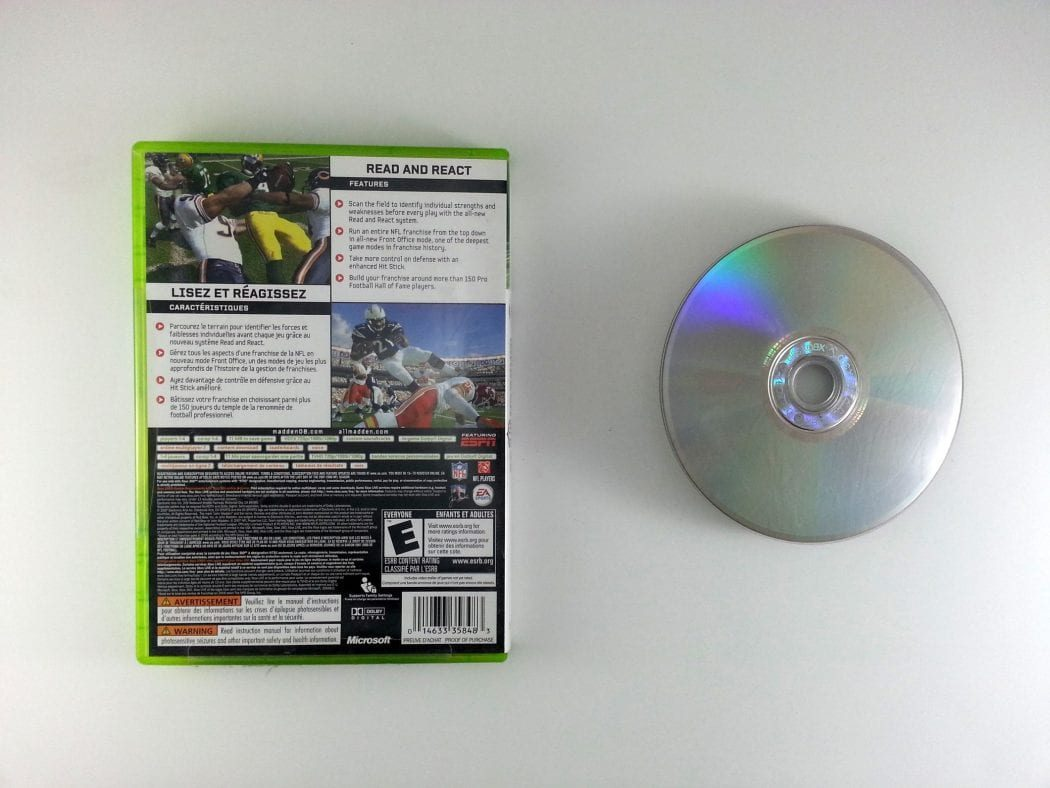 Madden 2008 game for Xbox 360 | The Game Guy