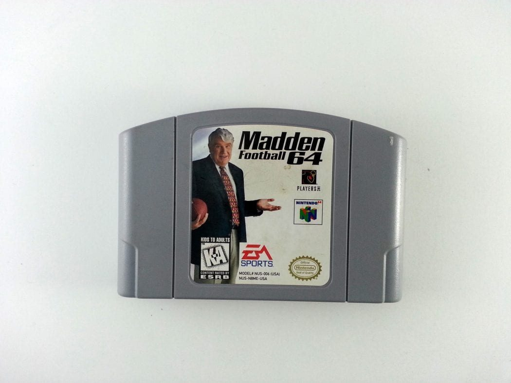 Madden 64 game for Nintendo 64 N64 - Loose