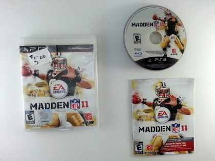 Madden NFL 11 game for Sony Playstation 3 PS3 -Complete
