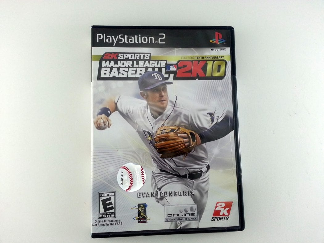 Major League Baseball 2K10 game for Sony Playstation 2 PS2 - New