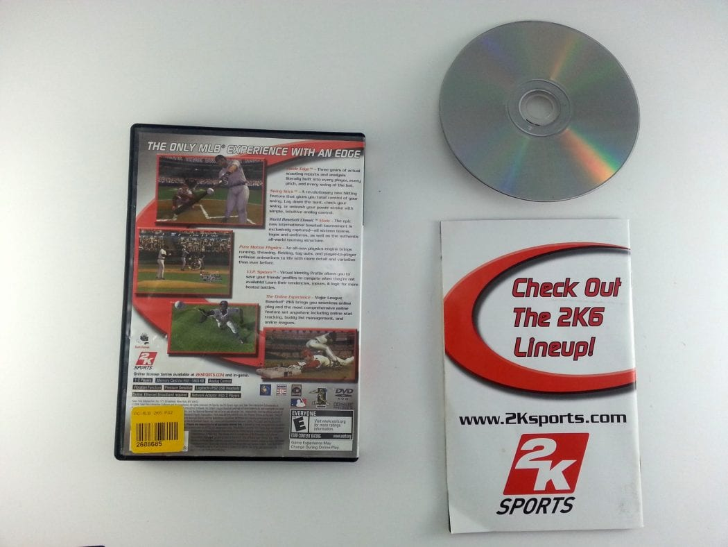 Major League Baseball 2K6 game for Playstation 2 (Complete) | The Game Guy
