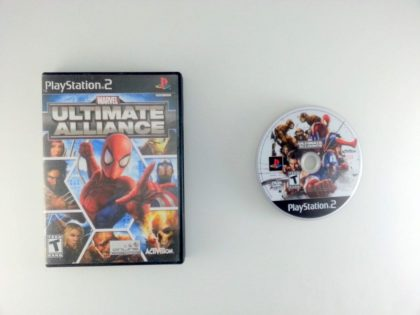 Marvel Ultimate Alliance game for Sony Playstation 2 PS2 -Game & Case