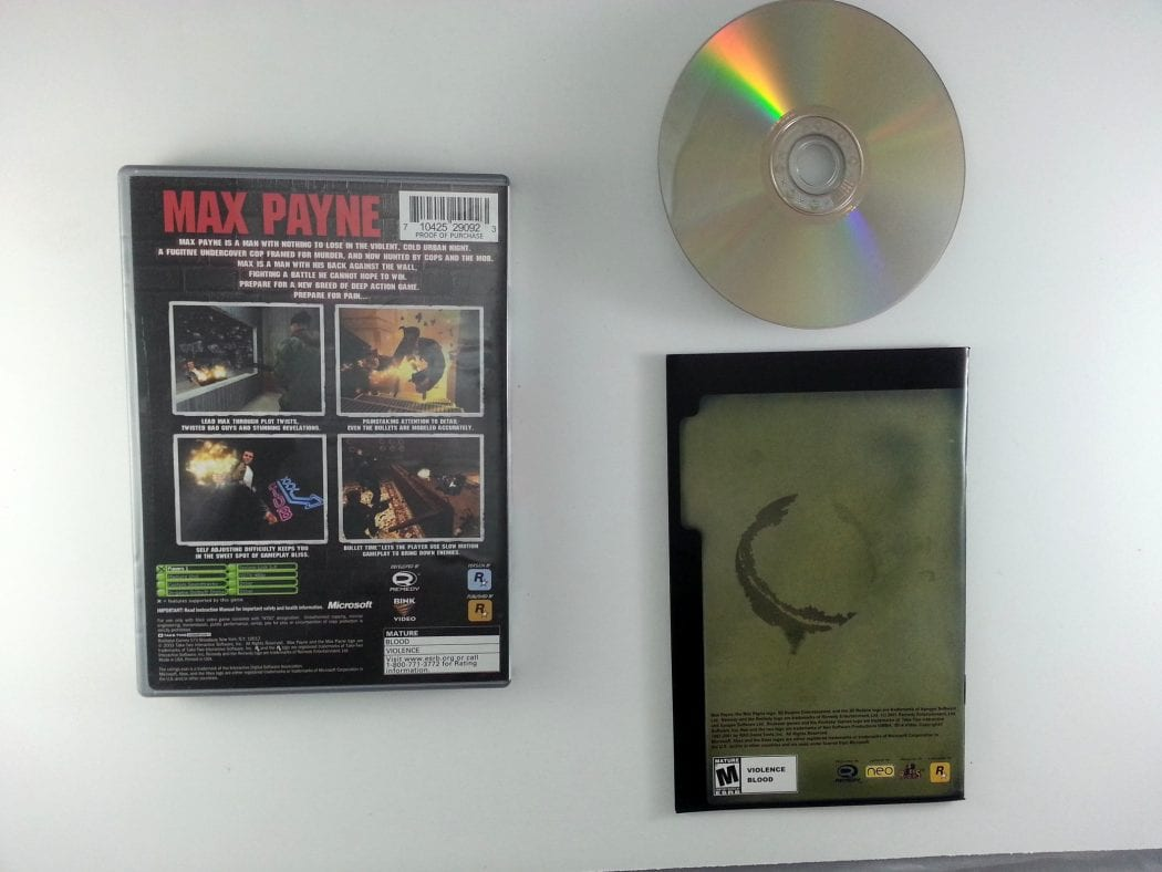 Max Payne game for Xbox (Complete) | The Game Guy