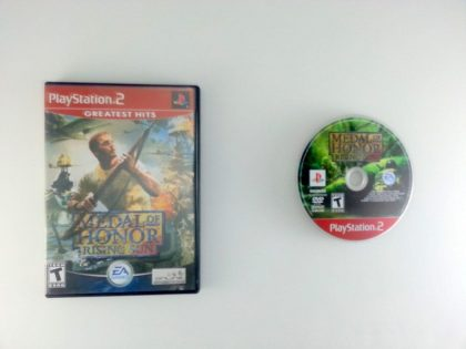 Medal of Honor Rising Sun game for Sony Playstation 2 PS2 -Game & Case