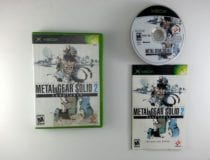 Metal Gear Solid 2 game for Microsoft Xbox -Complete