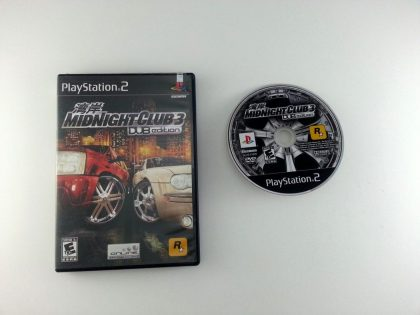 Midnight Club 3 Dub Edition game for Sony Playstation 2 PS2 -Game & Case