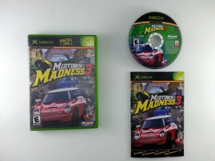 Midtown Madness 3 game for Microsoft Xbox -Complete