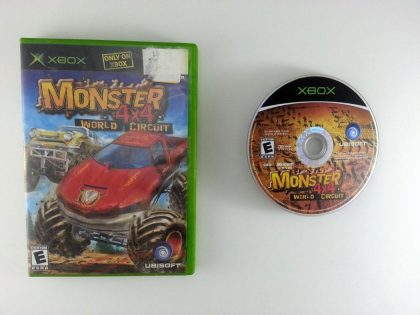 Monster 4X4 World Circuit game for Microsoft Xbox -Game & Case